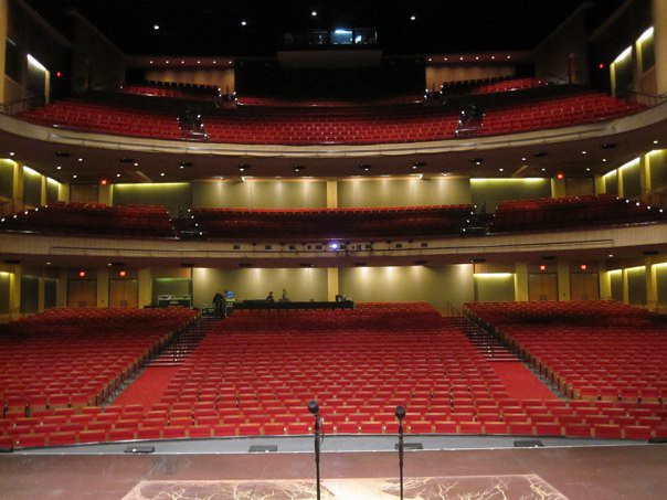 Bushnell theatre hartford from the stage flickr photo sharing