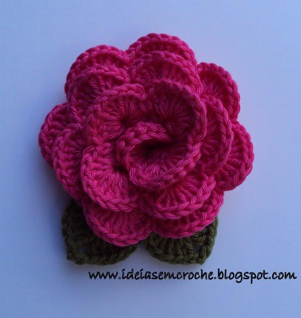 Broche Flor de Croch? Flickr - Photo Sharing!