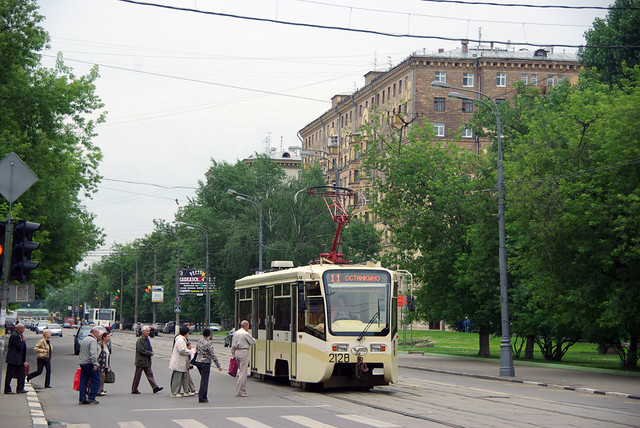 Moscow tram 212820090620085