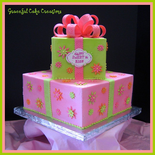 Birthday Cake Ideas With Sweets : Sweet 16 Birthday Cake Flickr - Photo Sharing!