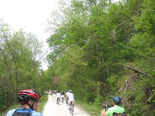 Katy Trail riders