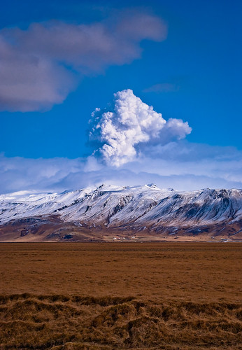 Eruption in Iceland