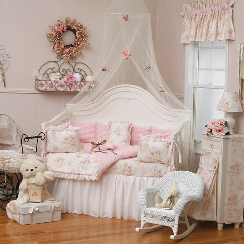 Shabby Chic Chenille Crib Bedding Flickr Photo Sharing