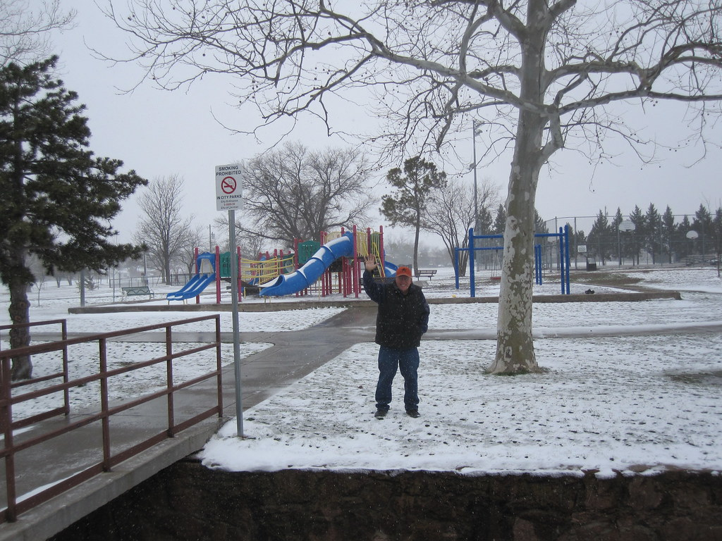Me at Snowy Park