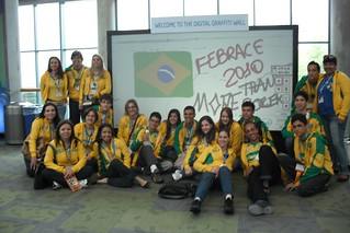 Brazilians - Electronic Wall @ ISEF 2010