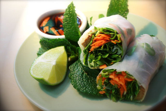 More, Minty Fresh Spring Rolls! | Flickr - Photo Sharing!