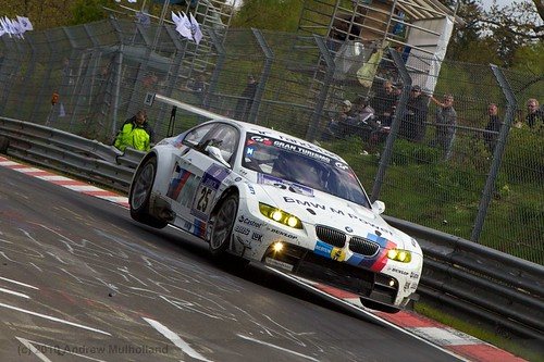 BMW Car 25 leaping at pflanzgarten