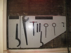 Abbey Mills tool rack