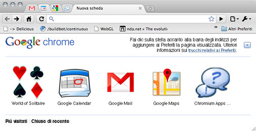 Installed Web Apps - Chrome dev for Mac