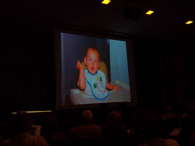 baby caleb in the slideshow