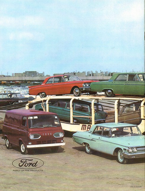 Ford Motor Company Of Canada 1961 Annual Report C1