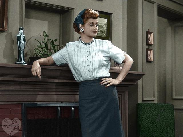 Lucy Ricardo Colorized Flickr Photo Sharing