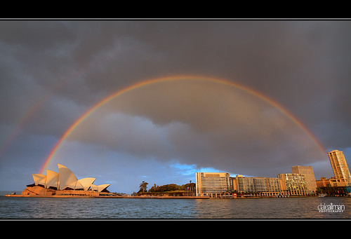 Raindow over the Opera House - HDR