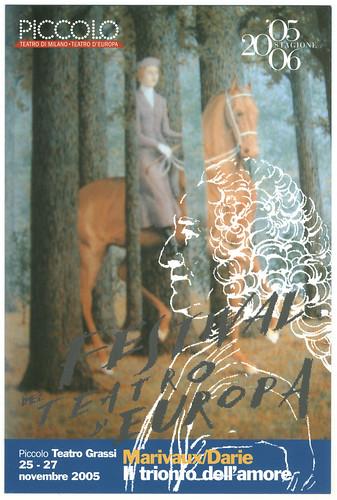 Piccolo Teatro (Milano. 2005). Il trionfo dell'amore, de Pierre Marivaux; dir. Alexandru Darie by Performing Arts / Artes Escénicas