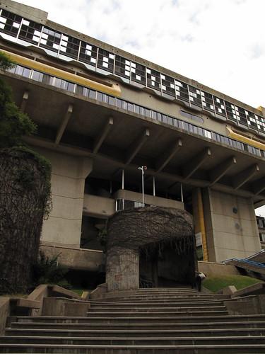 biblioteca nacional escalinata