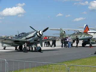 Messerschmitt Bf 109 und Me 262