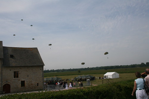 Memorial Paratrooper Jump, Sainte Mere Eglise-France