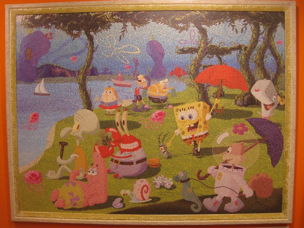 "Seurat - ""Sunday Afternoon on the Island of La Grande-Jatte"""