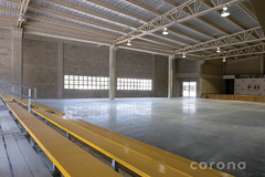 floor, hall, wood, ceiling, beam, interior design, warehouse, flooring,