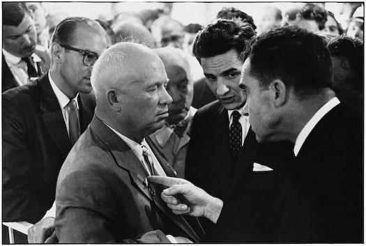 Khrushchev and Nixon, by Elliott Erwitt 1959