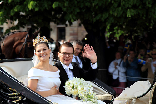 Princess Victoria and Daniel's wedding