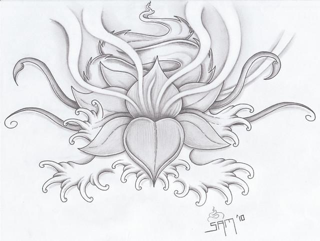 Lotus Blossom tattoo