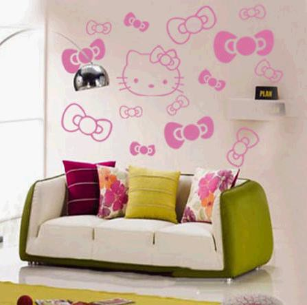Hello Kitty Wall Decals Etsy : HELLO KITTY Wall Art Sticker Flickr   Photo  Sharing!
