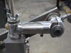 Dry fitting stem