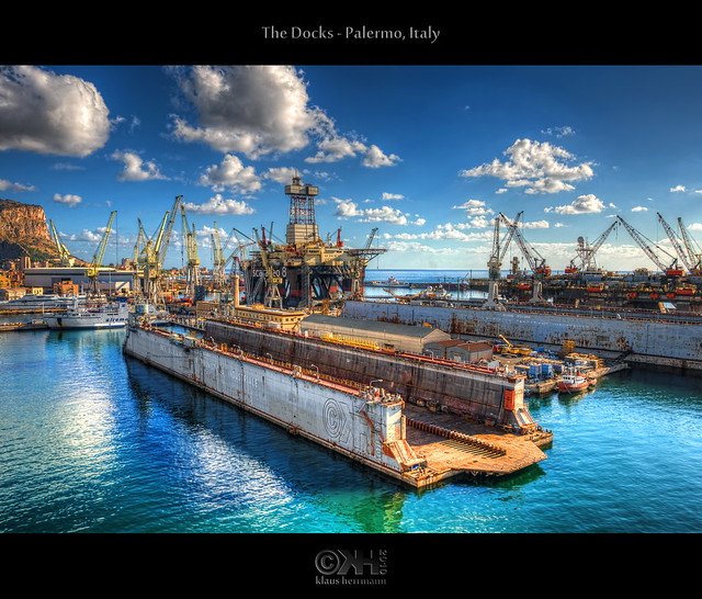 The Docks - Palermo, Italy (HDR)