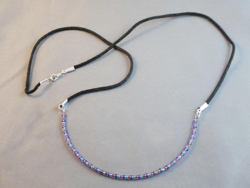 large curve necklace