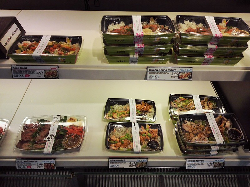 itsuのサーモン枝豆弁当