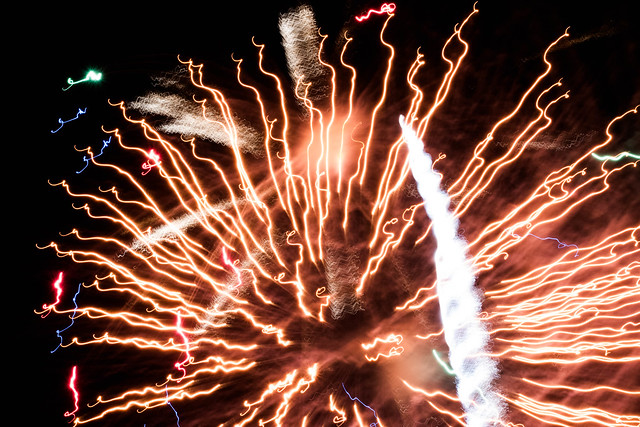 Shoreline Ampitheater's 4th of July Fireworks Spectacular