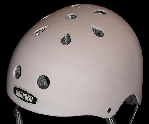 My Nutcase Helmet in matte taupe