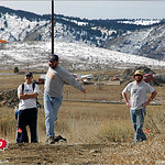 Kenny Greene at the 2005 Ice Bowl at West Arvada Disc Golf Course.
