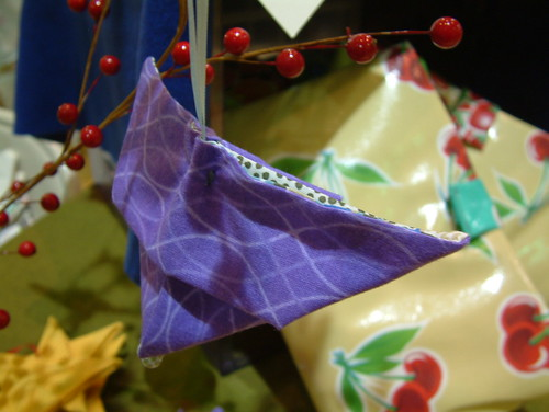 Paper Ornament 12 Photos | Purple Origami Butterfly Ornament 1 | 096