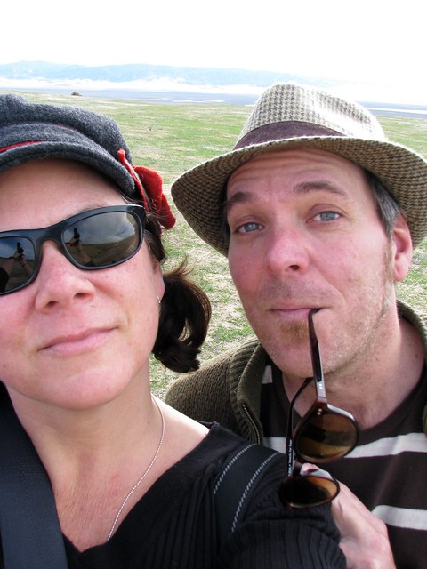 it was his birthday so we ventured out to the carrizo plain to see the san andreas fault for ourselves