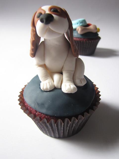 Puppy Birthday Cake Design
