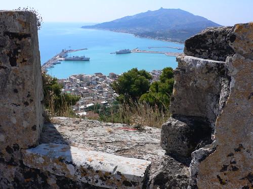 View-Venetian-fort-Zakynthos