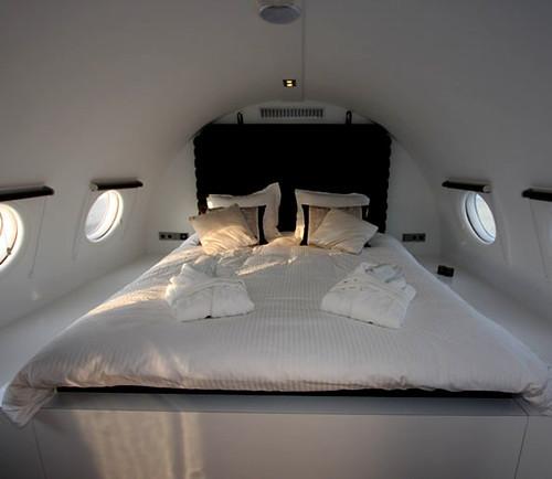 Interieur en design tips op priv vliegtuig suite - Ongewoon behang ...