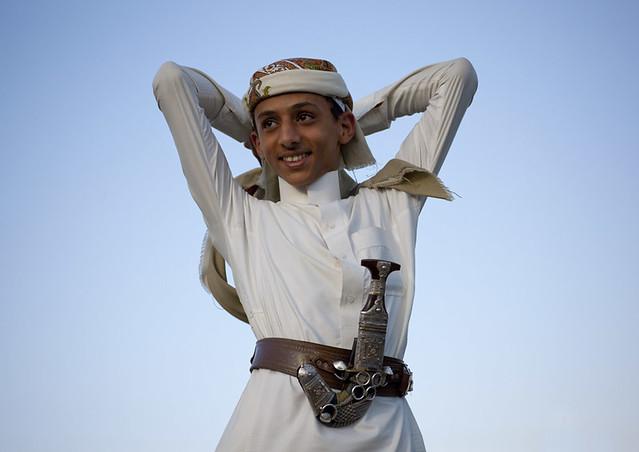 Rachid in Al-Fifa mountains - Saudi Arabia