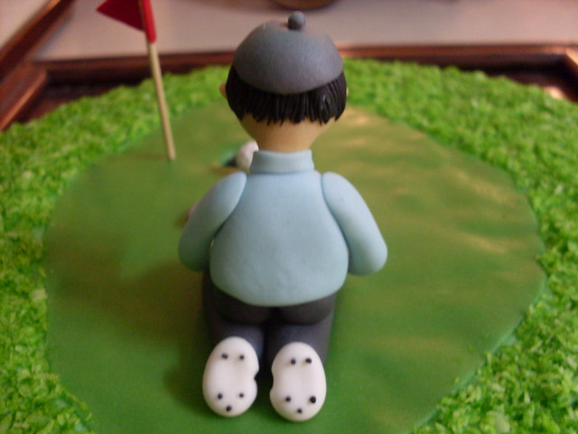 Uncle Ramesh s Golf Birthday Cake - 30-1-2010 Flickr ...