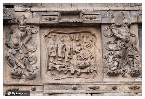图5-4佛教故事浮雕