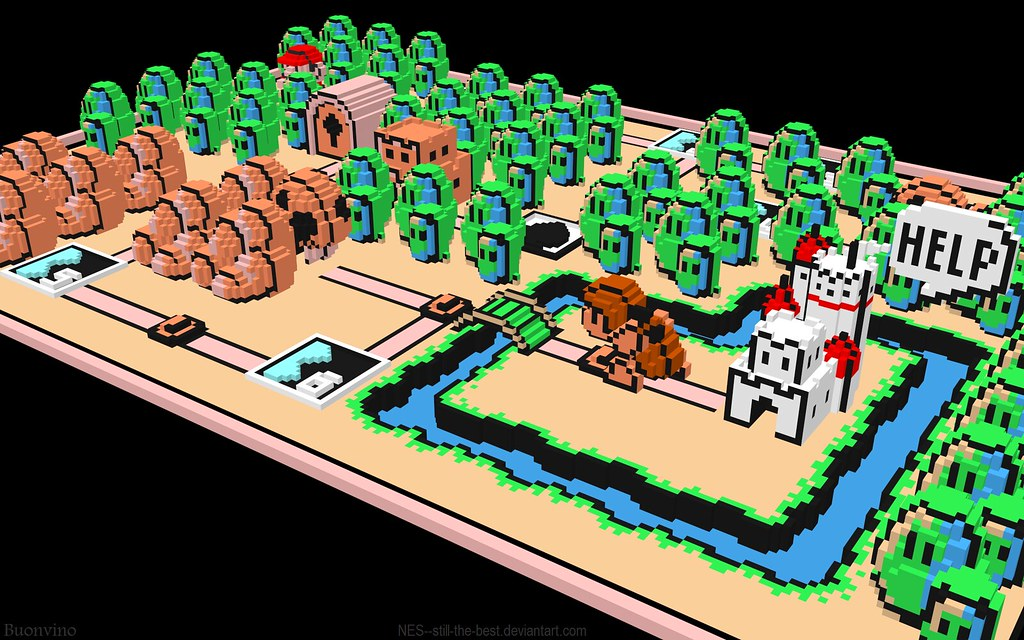 Mario 3 World Map.Super Mario Bros 3 World 1 Map Since Flickr Resizes All Flickr