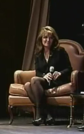 Palin in pantyhose