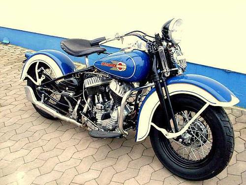 Harley Davidson WLA750 1943