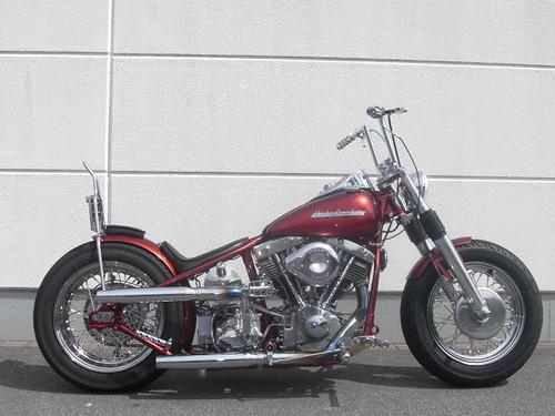 Harley Davidson FL Shovel Starrahmen 1954