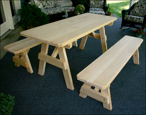 Picnic Tables, Woodworking Plans and Patterns by WoodcraftPlans.com