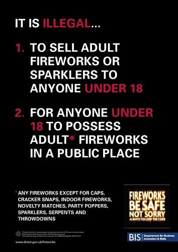 Fireworks Be Safe Not Sorry
