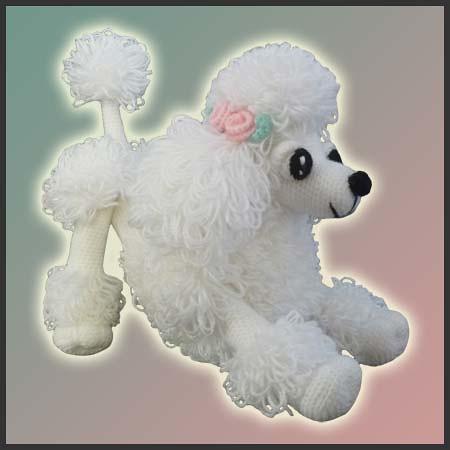 Lara, The Poodle Toy - Amigurumi Pattern by DeliciousCroch ...
