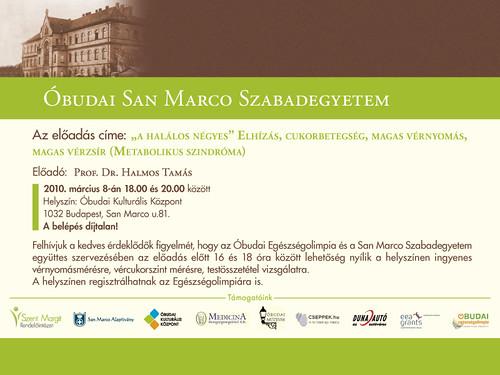 San Marco Szabadegyetem: Prof. Dr. Halmos Tamás